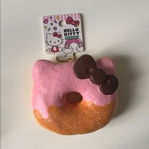 Hello Kitty Pink Donut Squishy